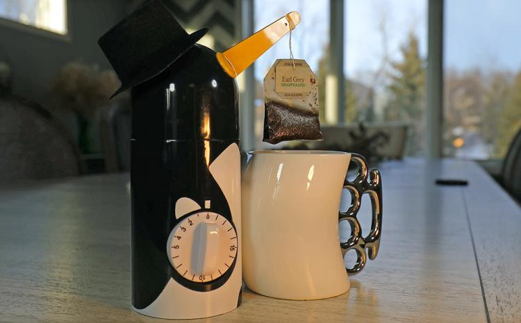 Penguin Tea Timer - Penguin tea infusion kitchen timer - Rising Beak Tea Timer