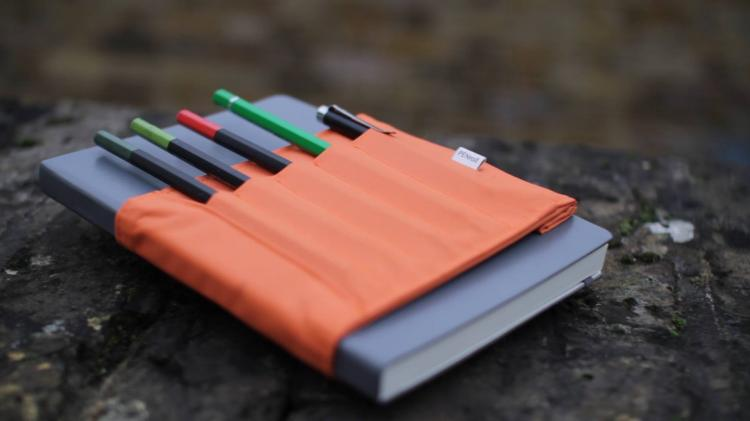 Penroll - designers notebook tool belt - pen/pencil holder