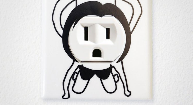 People Having Sex On Your Outlet Cover Decal