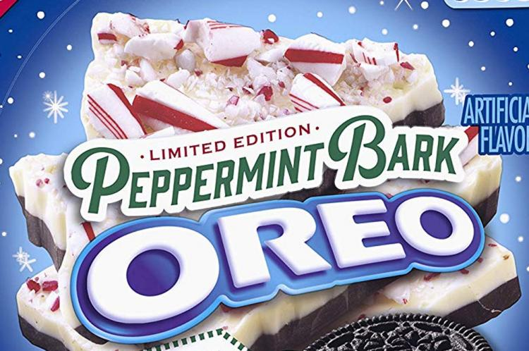 Peppermint Bark Oreo's - Christmas Season Oreo's