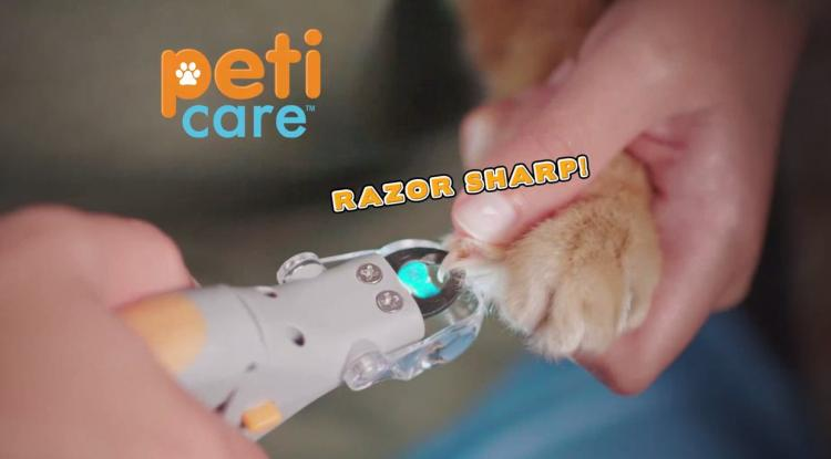 Peticare: Pet Nail Clipper With LED Light That Illuminates Nail Quick - Best dog nail clipper