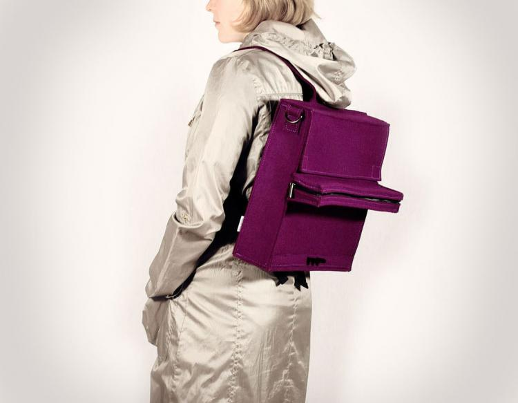 Purple Piano Bag Backpack
