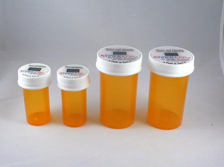 RX Timer Cap - Medication Cap Resets When You Take Your Pills - Pill Bottle Timer Cap
