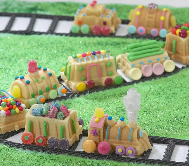 Train Shaped Cake Pan