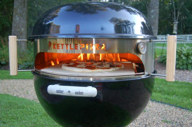 BONUS: Pizza Oven for Charcoal Grill