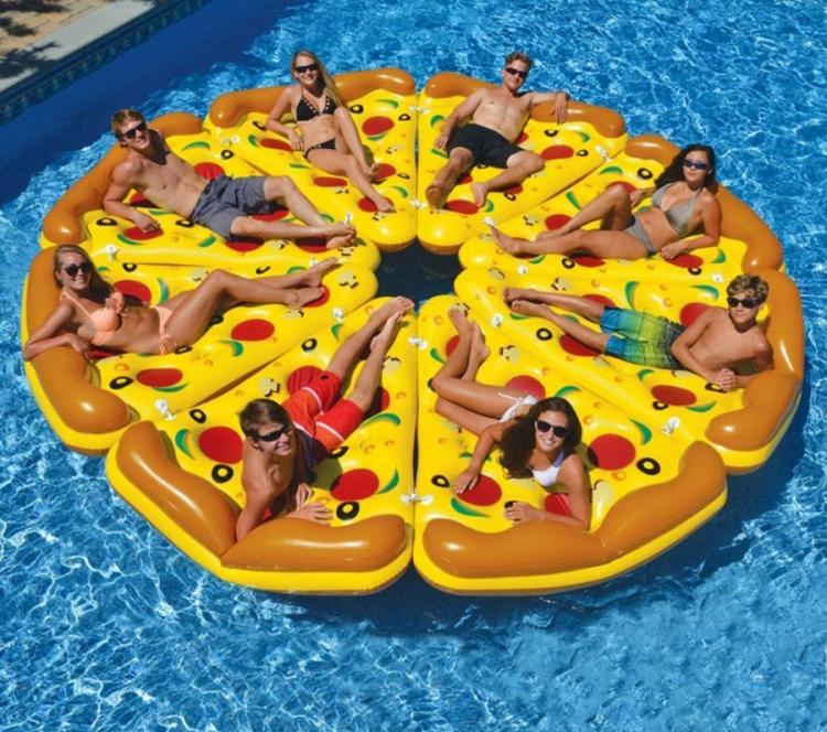 Whole Pizza Pool Float System