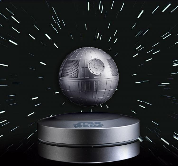 Plox Speaker - Star Wars Death Star Bluetooth Speaker - Magnetic Levitating Death Star Speaker - Floating Star Wars Speaker