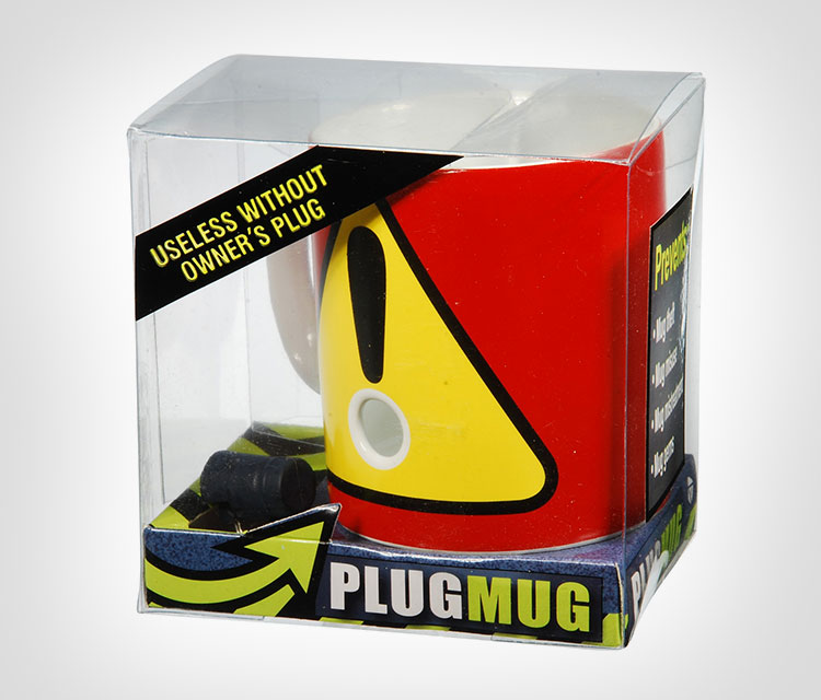Plug Mug Coffee Mug Deters Thieves
