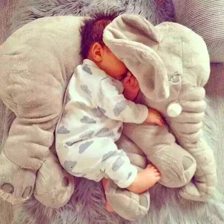 Plush Elephant For Your Baby To Snuggle
