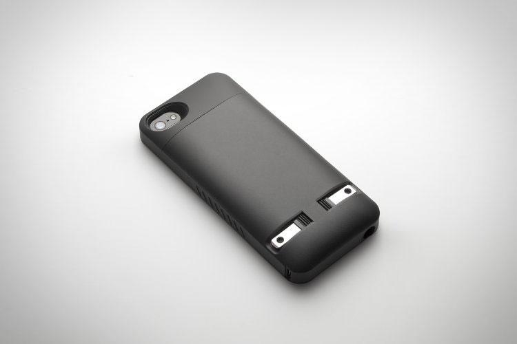 Pocketplug Iphone Case With Wall Plug