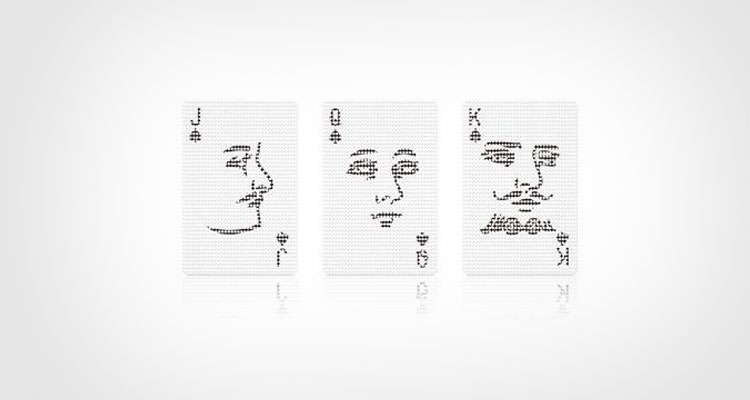 Poker Face Playing Cards