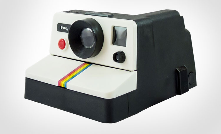 Polaroid Camera Toilet Paper Dispenser