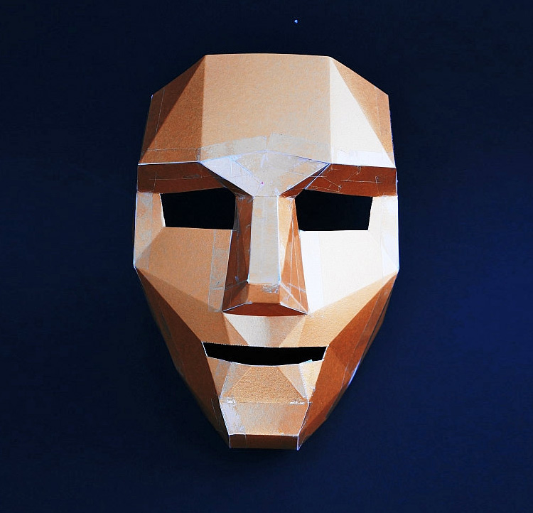 Lovely Polygon Mask DIY Kit IT46