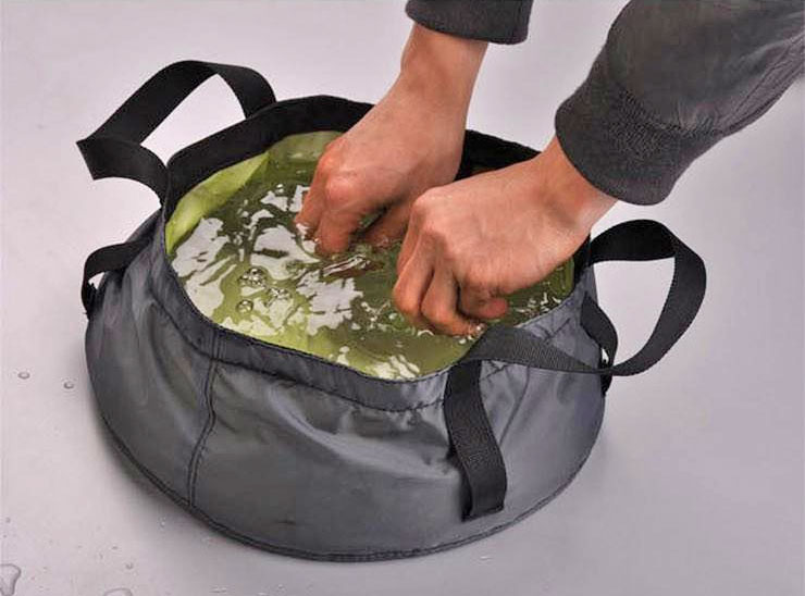 NatureHike Cordura Fabric Folding Camping Bowl