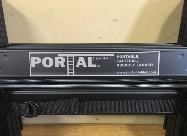 Portal Ladder Tactical Collapsible Ladder - Military ladder folds down in seconds