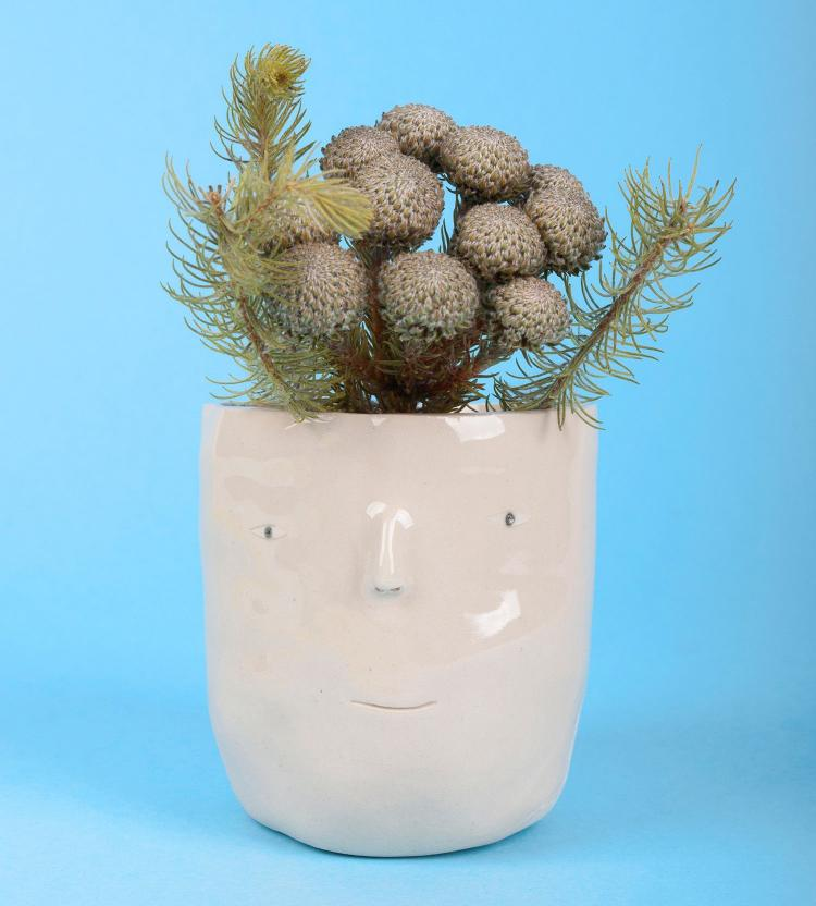 Pot Heads - Head Shaped Planter Pots