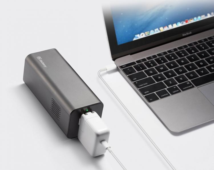 how to make a portable outlet with a battery