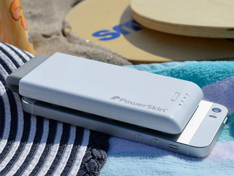 PowerSkin PoP'n 3 - Suction cup external battery