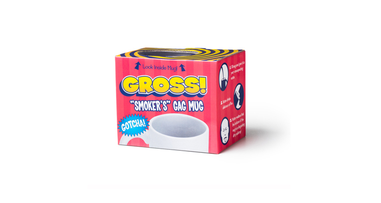 Prank Coffee Mug Cigarettes In Ashtray