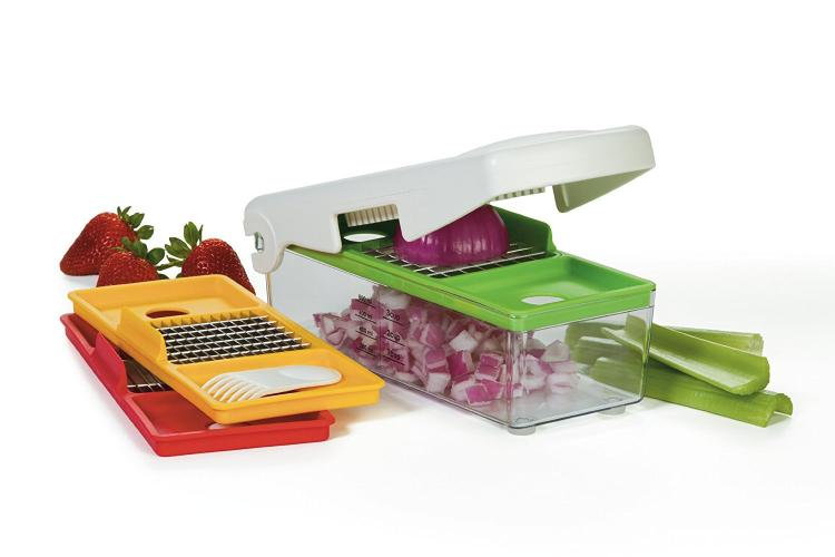 Prepworks Vegetable Chopping Box Dices Veggies In Seconds