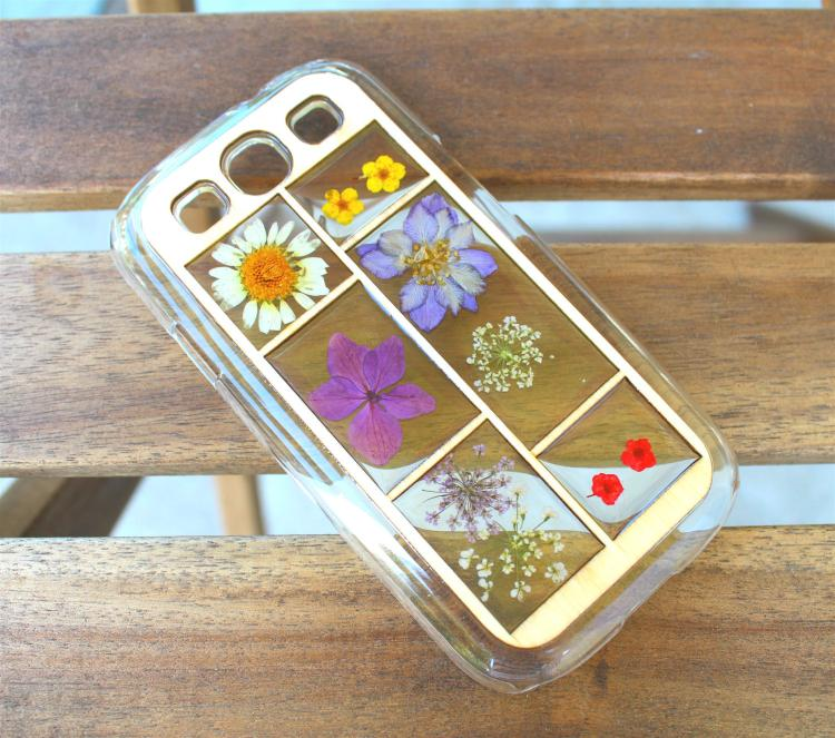 Pressed Flowers iPhone Case