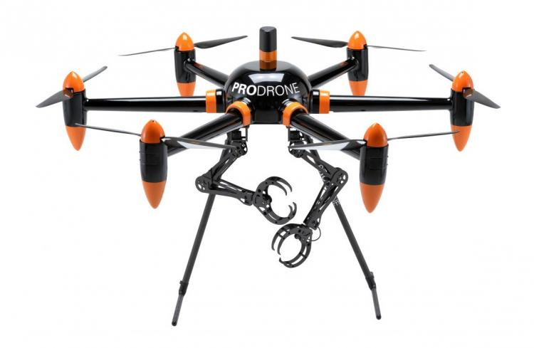 ProDrone - Robotic Drone With Arms - Armed Robot Drone - Drone with arms that can carry stuff