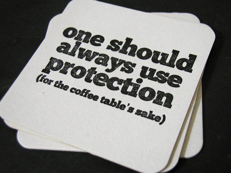 Provocative Drink Coasters