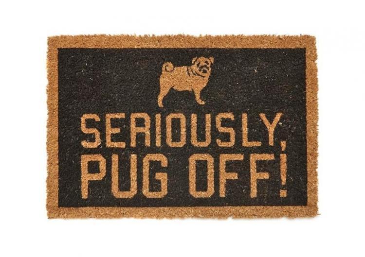 Pug Off Doormat
