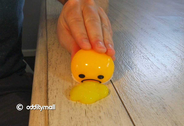 Puking Egg Yolk Stress Ball