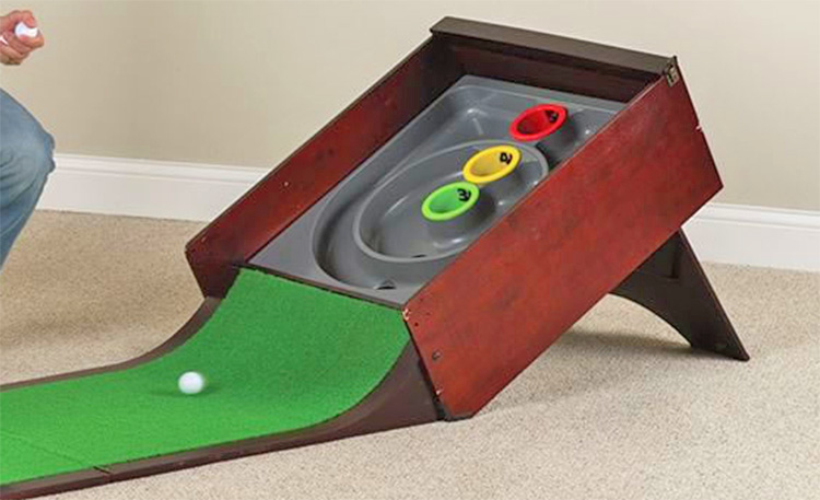Golf Putting Skee-Ball Arcade Game - Arcade Bowling Putting Game