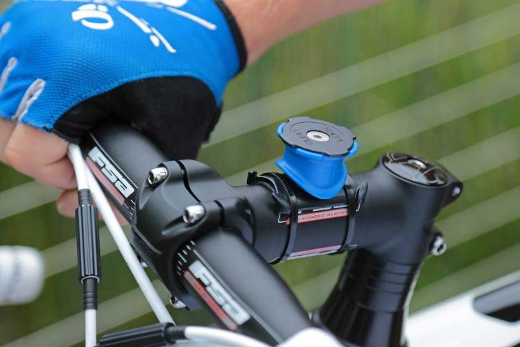 Quad Lock Bike Mount - Snap in phone mount for bicyclists