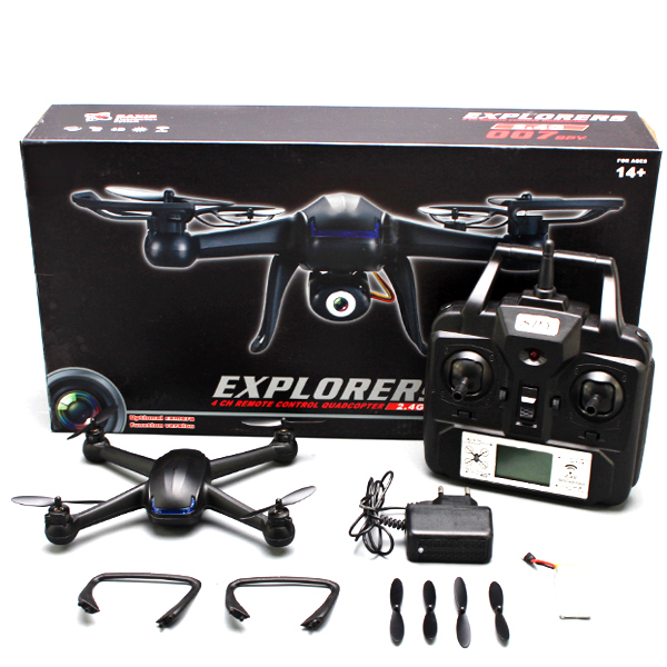 DM007 Drone Quadcopter With 6-Axis and HD Camera