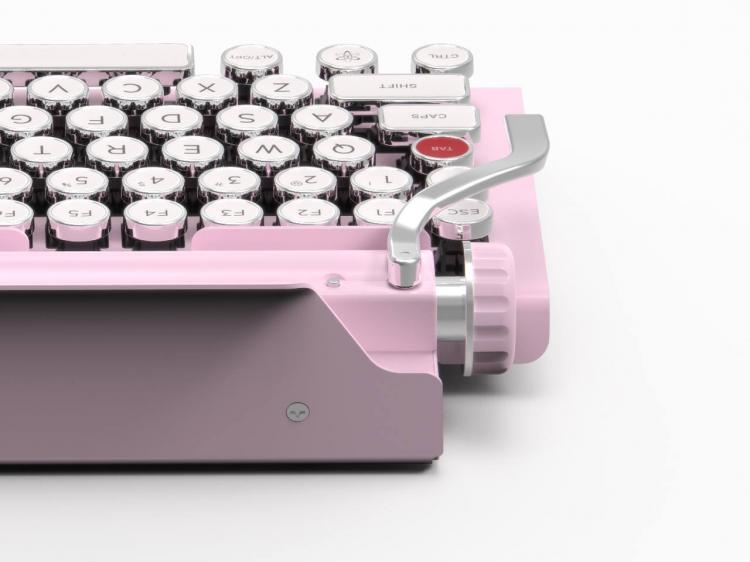 Qwerkywriter Typewriter Keyboard - Vintage retro mechanical keyboard inspired from a typewriter