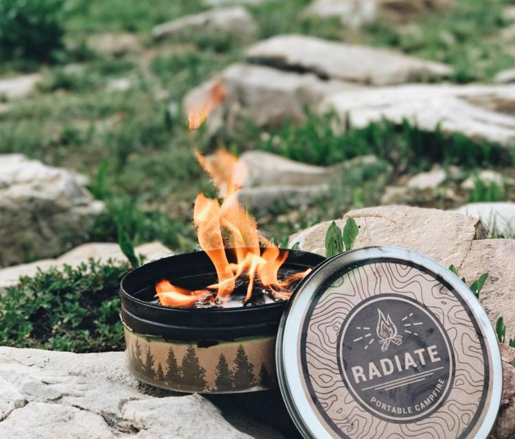 Radiate Portable Campfire - Reusable Campfire