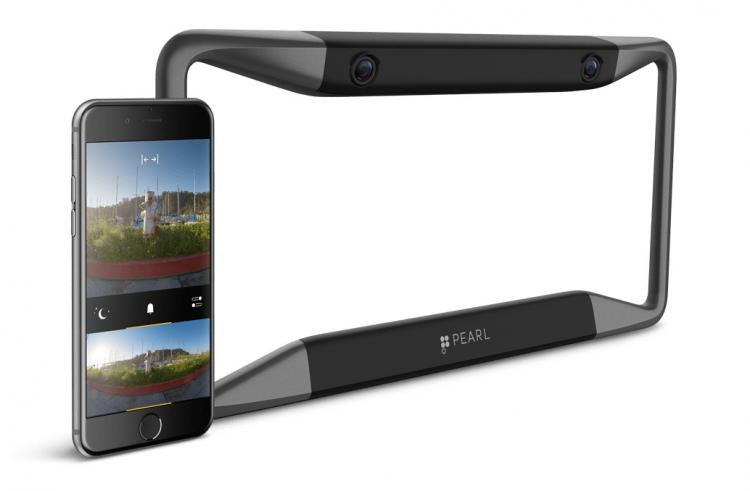 After Market Rear-View Car Camera - Smart phone rear-view camera for car