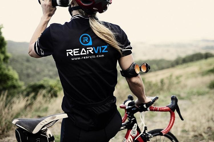 RearViz - Rear-view bicycle mirror attache to your arm - Arm mounted bike mirror