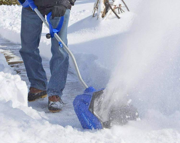 Snow Joe Rechargeable Electric Snow Shovel - Cordless electronic shovel
