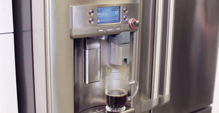 Refrigerator With Built In Keurig K Cup Coffee System