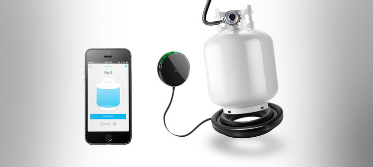 Quirky Refuel Smart Phone Propane Tank Monitor