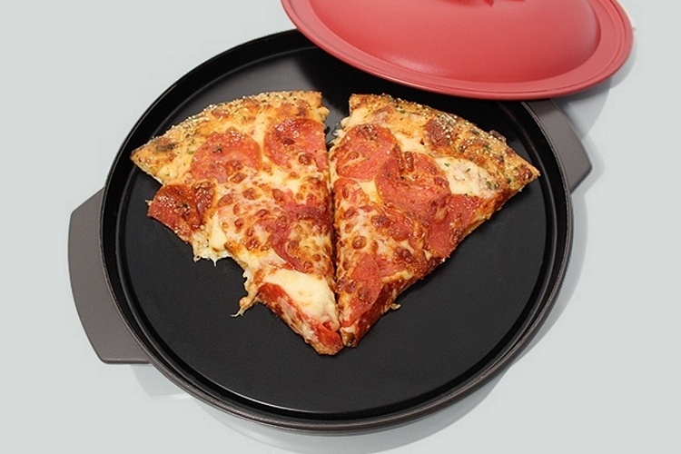 Reheatza Reheats Leftover Pizza In Microwave Without Sogginess