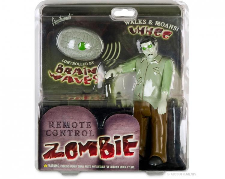 Remote Control Walking Zombie With Brain Remote