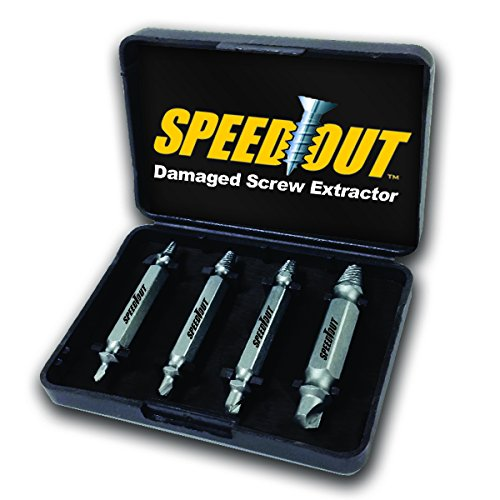 ScrewOut Stripped Screw Remover - How To remove stripped screws - Drill bit removes stripped or damaged screws in 10 seconds