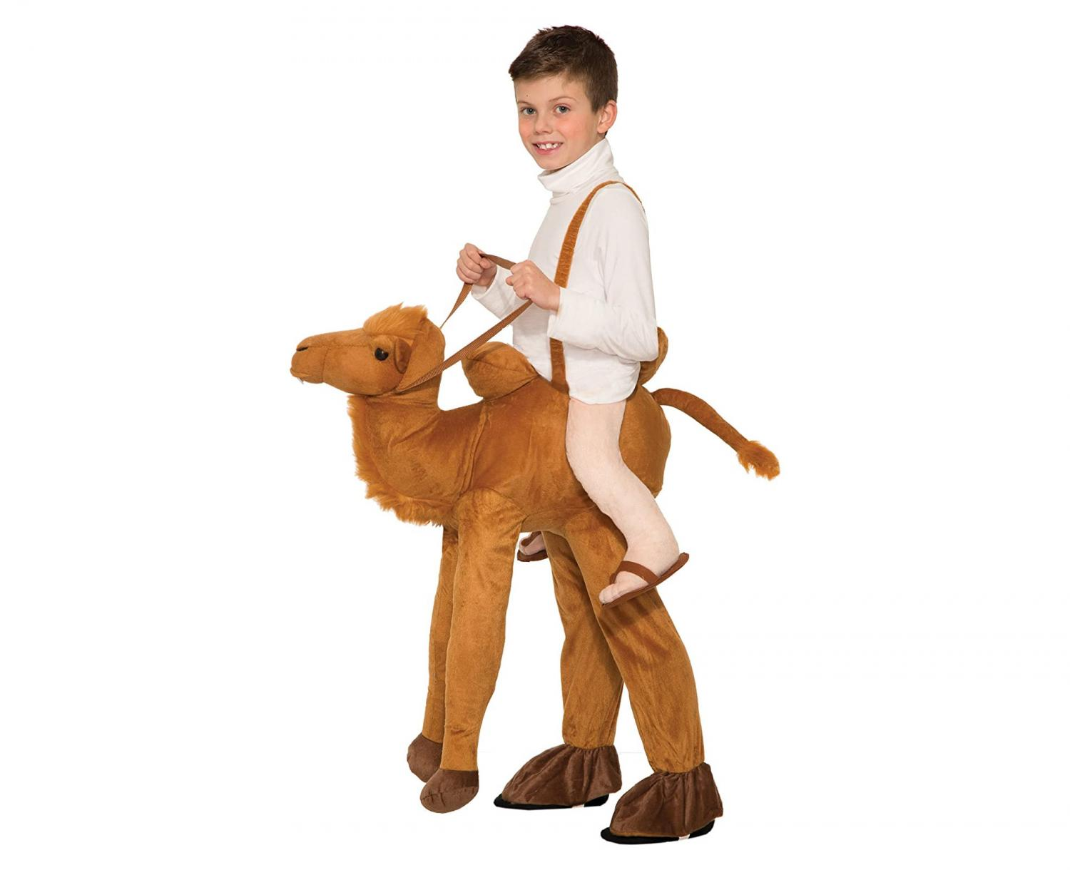 Kids Version Of The Plush Ride-On Camel Costume