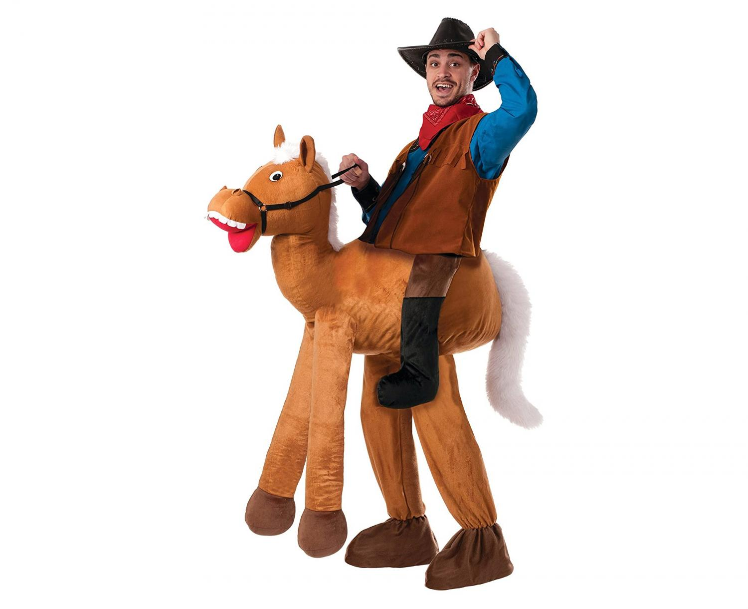 Ride-On Horse and Cowboy Costume