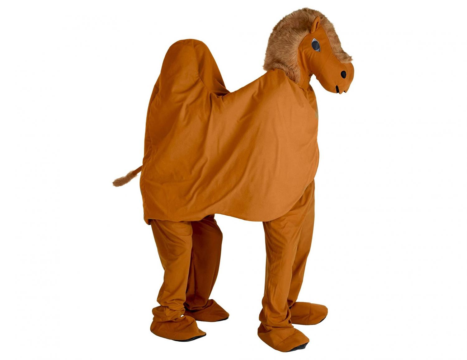 Two-Person Camel Costume That Makes Each Person A Hump On The Camel's Back