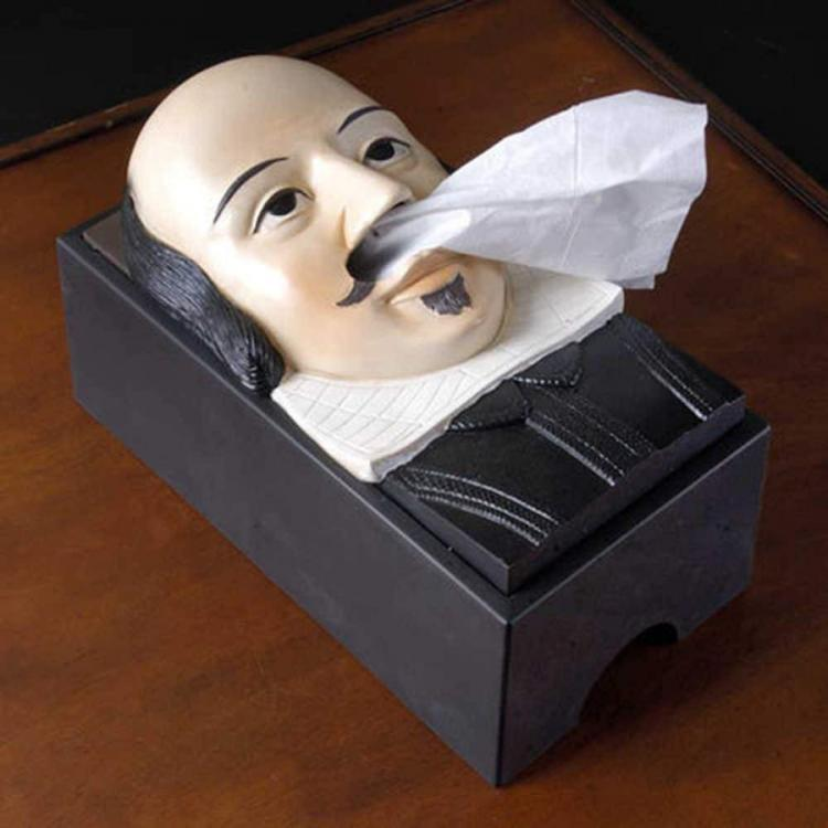 Shakespeare Tissue Dispenser