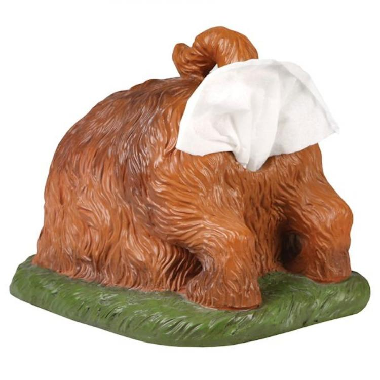 Digging Dog Tissue Holder