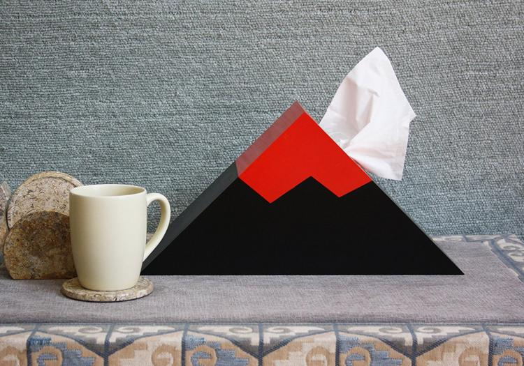 Volcano Tissue Dispenser