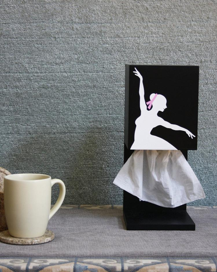 Ballerina Dancer Tissue Dispenser