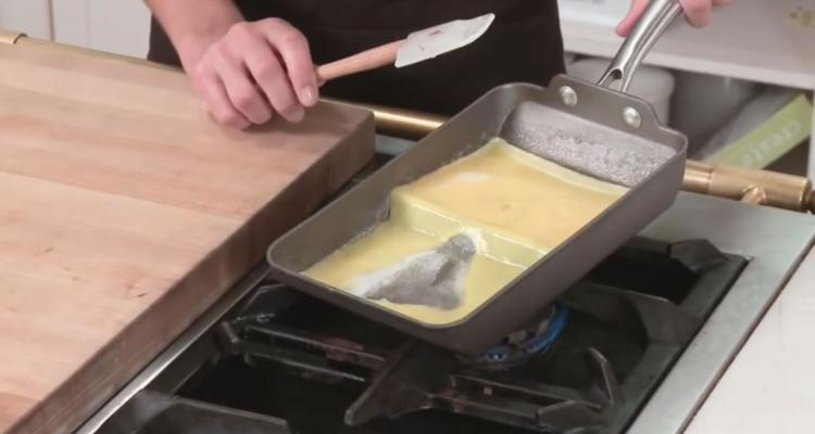 Rolled Omelette Making Pan